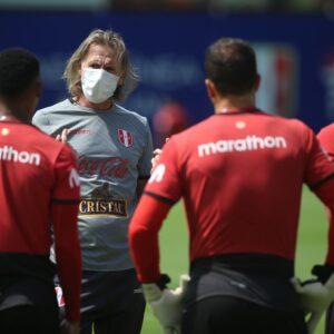 Ricardo Gareca con la selección peruana